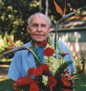 8907968cb52 The photo on the right was taken of Rene on his birthday August 22 2000 by  his son Martin. It remains the last photo taken of Rene with the floral ...