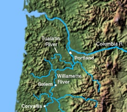 Bigfoot a little story on the tualatin river in oregon by for Tualatin river fishing